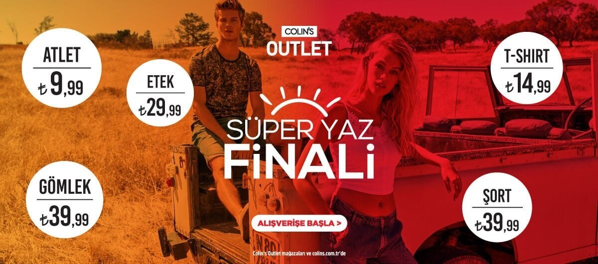 Outlet Yaz Finali