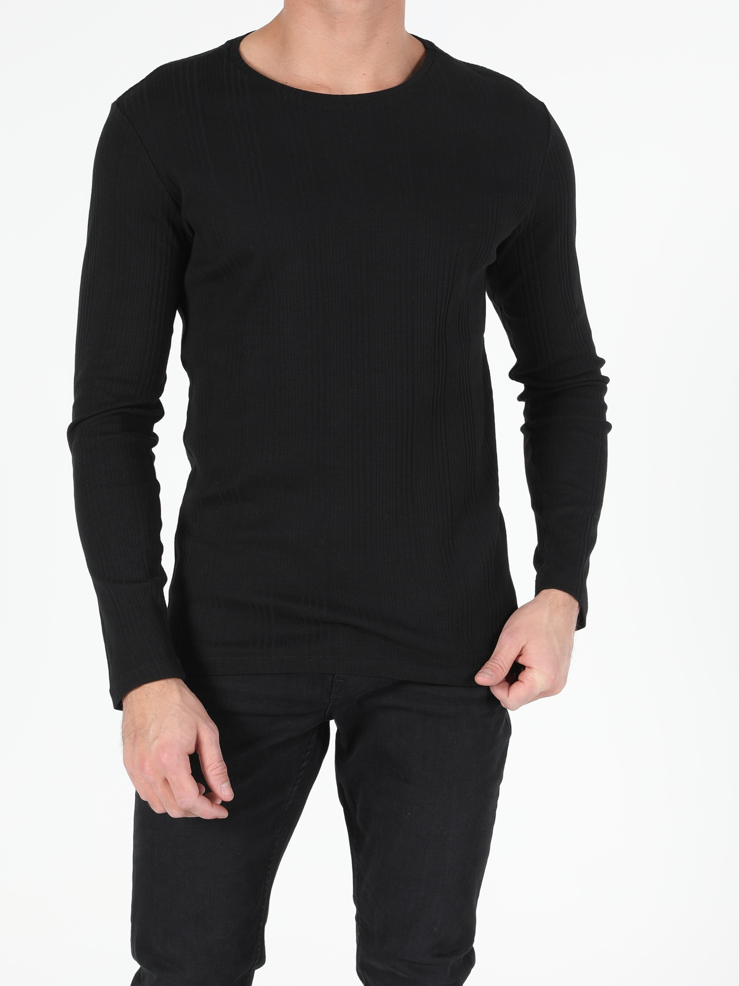 Erkek Uzun Kol Tişört
