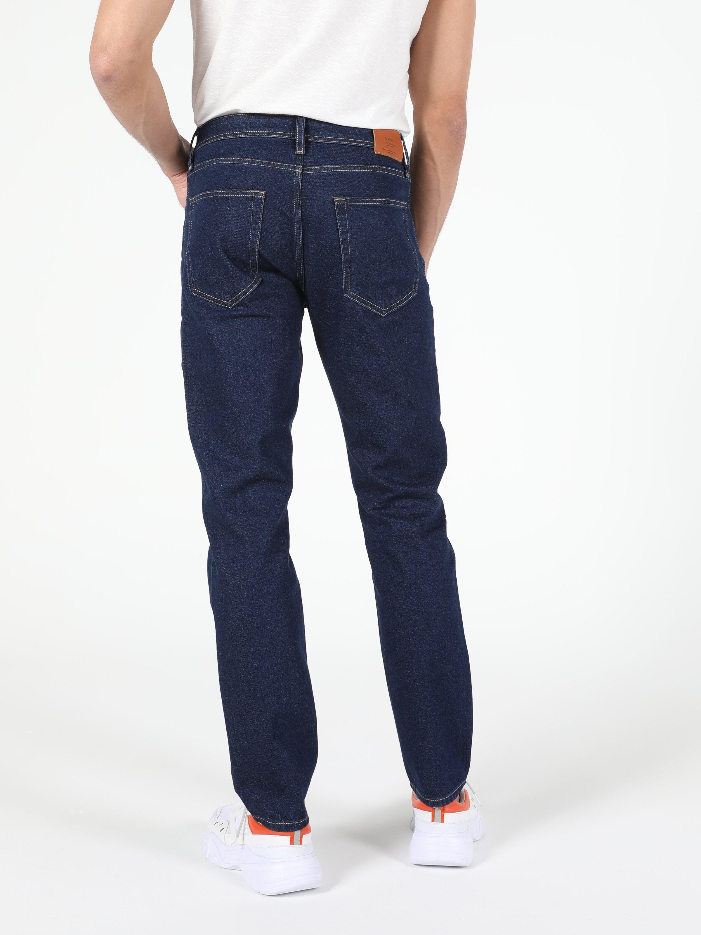044 Karl Düşük Bel Düz Paça Straight Fit Jean Erkek Jean Pantolon