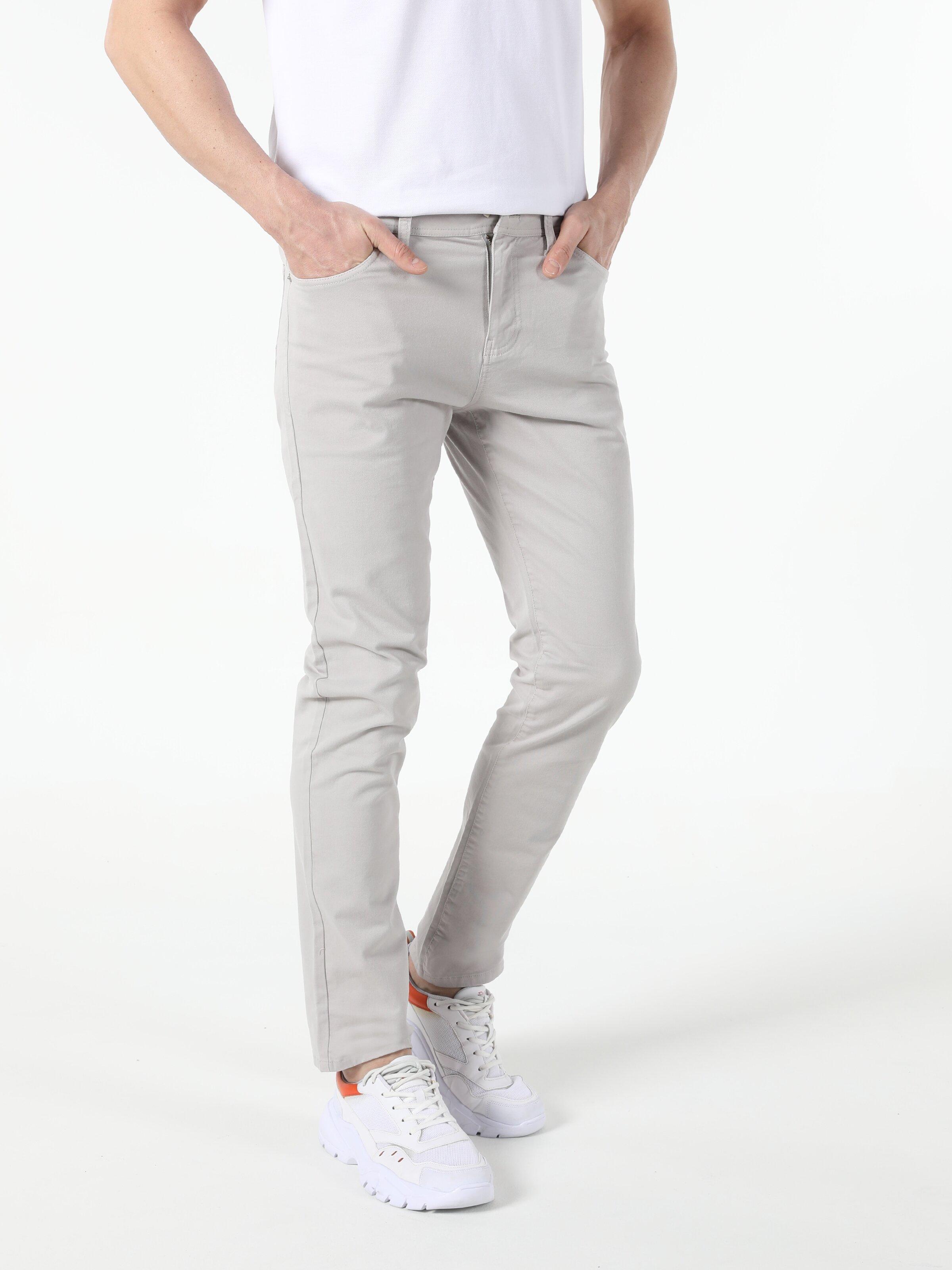 Straight Fit Düşük Bel Erkek Pantolon