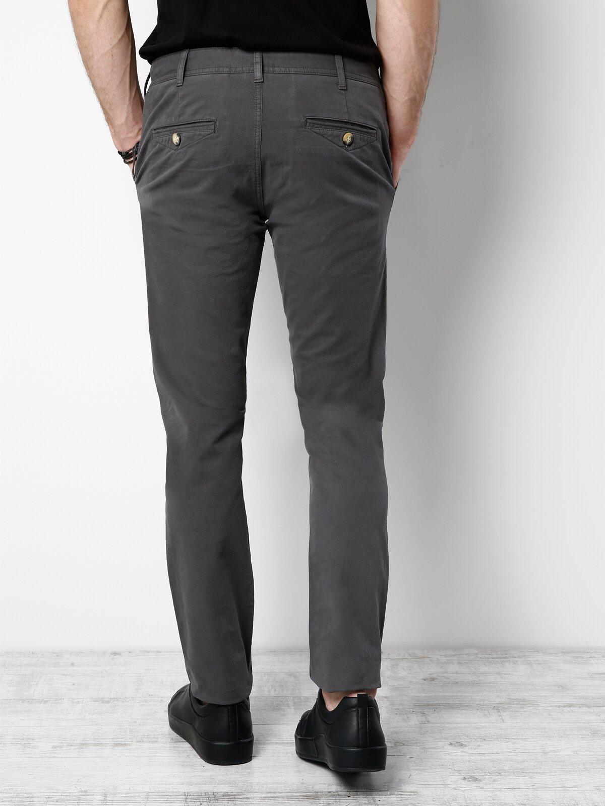 Slim Fit  Erkek Antrasit Pantolon