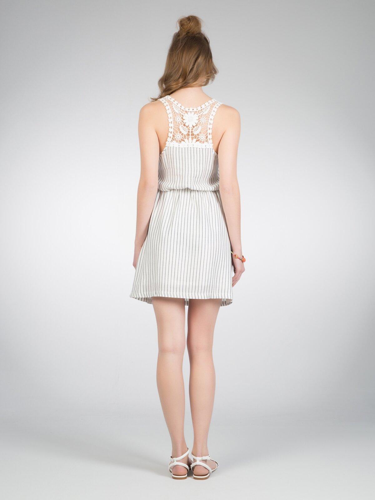 Kadın Mini Beyaz Elbise