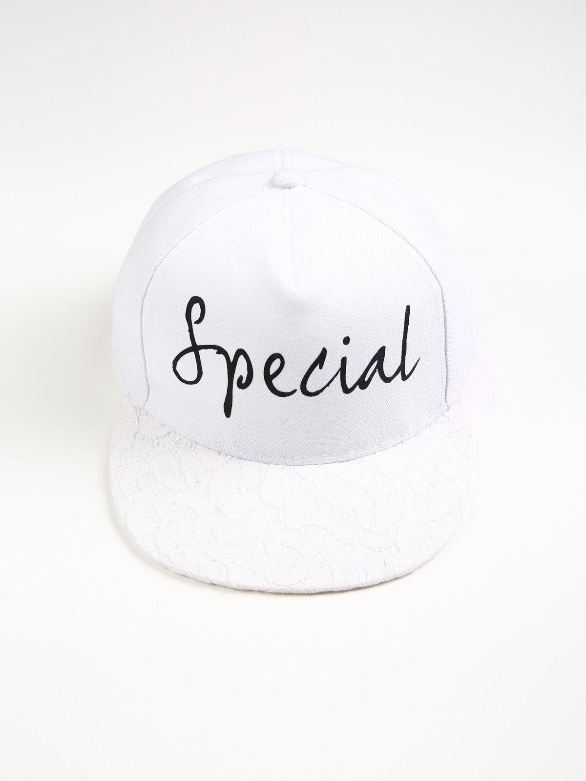 Beyaz Kadın Şapka