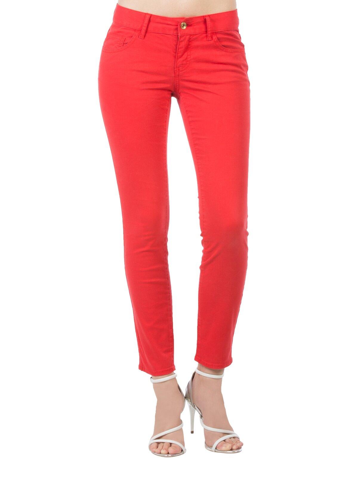 Slim Fit Dar Paça Düşük Belkadın Pantolon