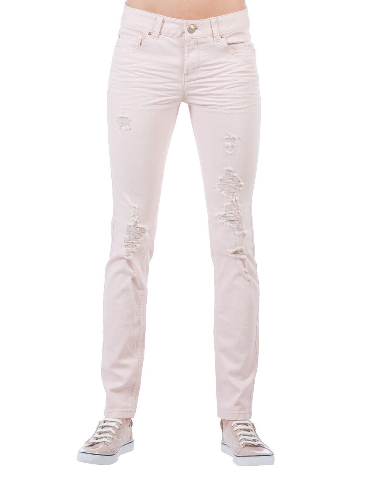 Slim Fit Dar Paça Yüksek Belkadın Pantolon