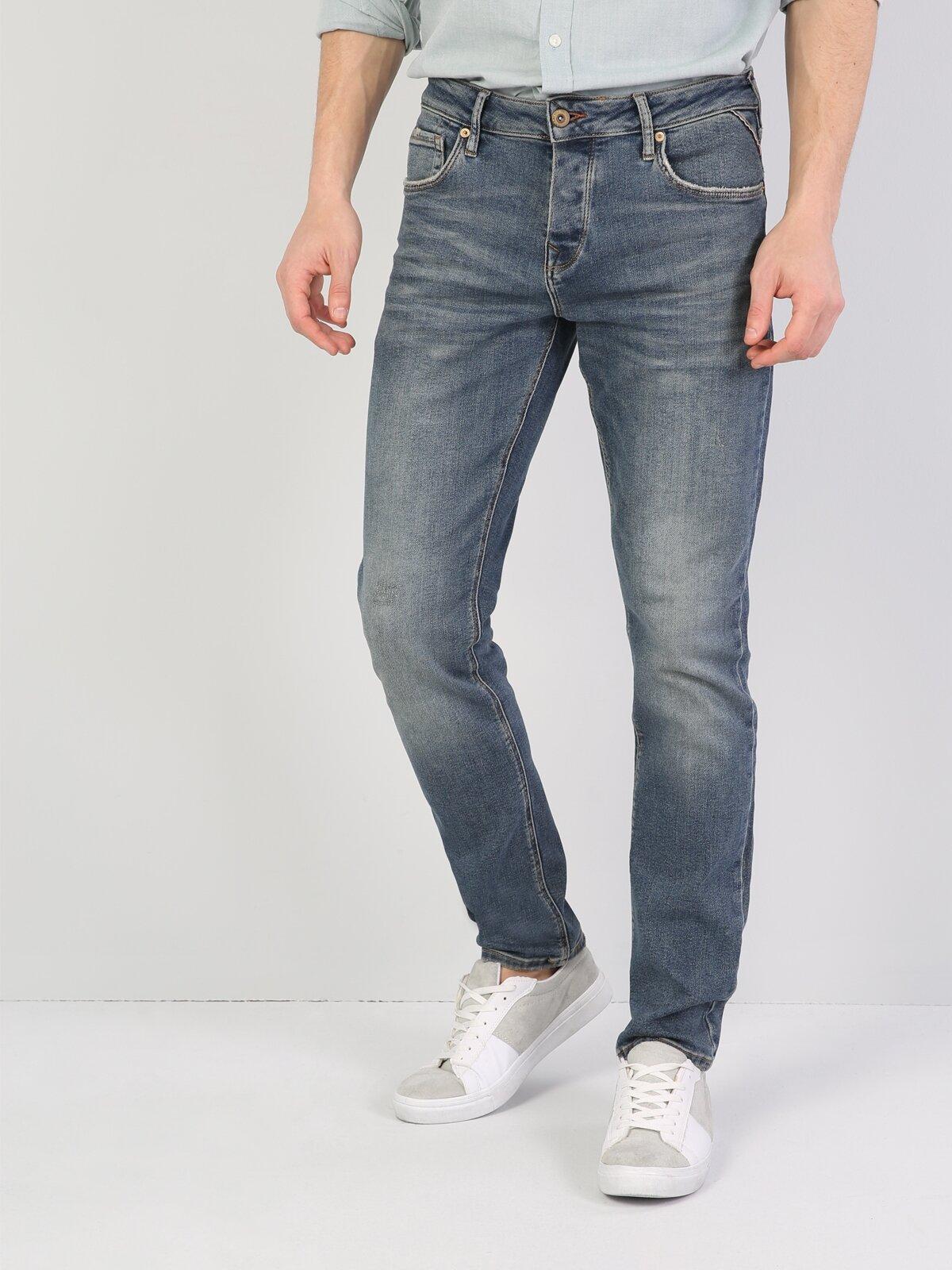 044 Karl Normal Kesim   Mavi Jean Pantolon