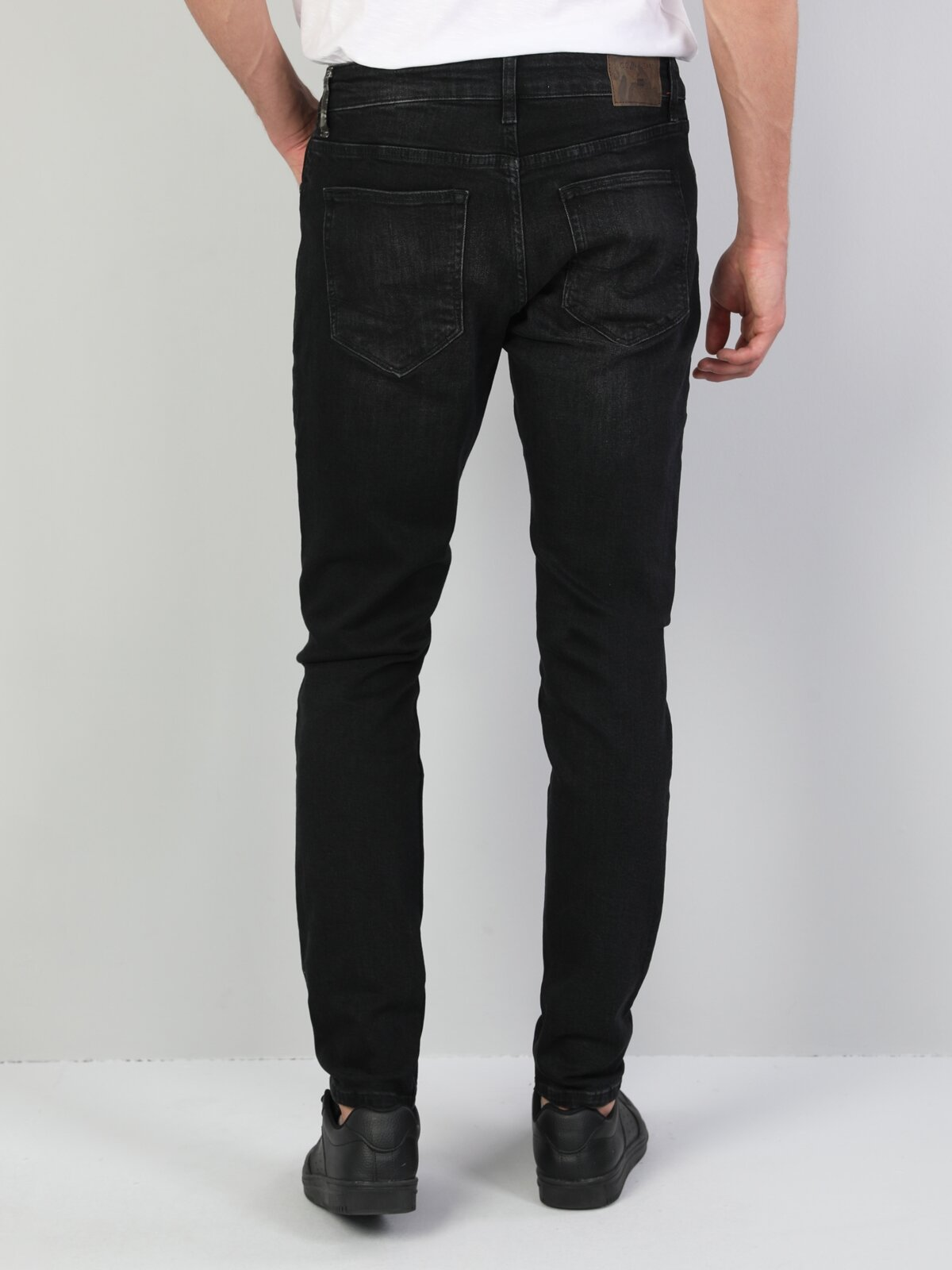 041 Danny Slim Fit Düşük Bel Slim Leg  Erkek Koyu İndigo Jean Pantolon