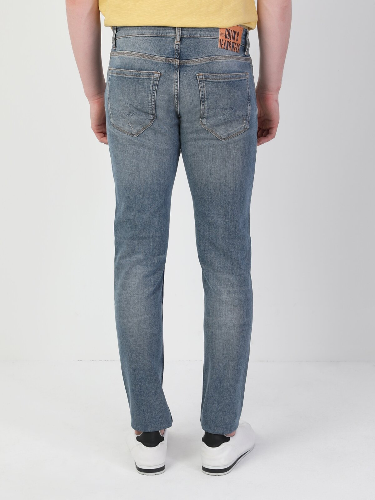 Slim Fit Dar Paça Düşük Bel 041 Danny Erkek Pantolon