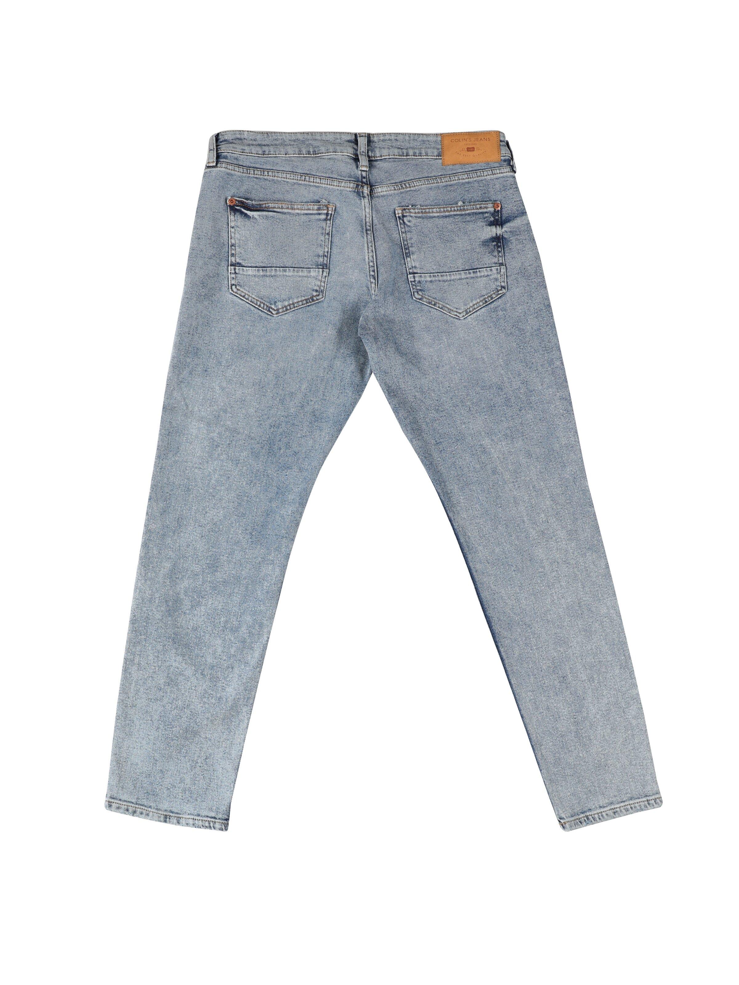 039 Lucas Carrot Fit Düşük Ağ Crop Leg  Erkek  Jean Pantolon