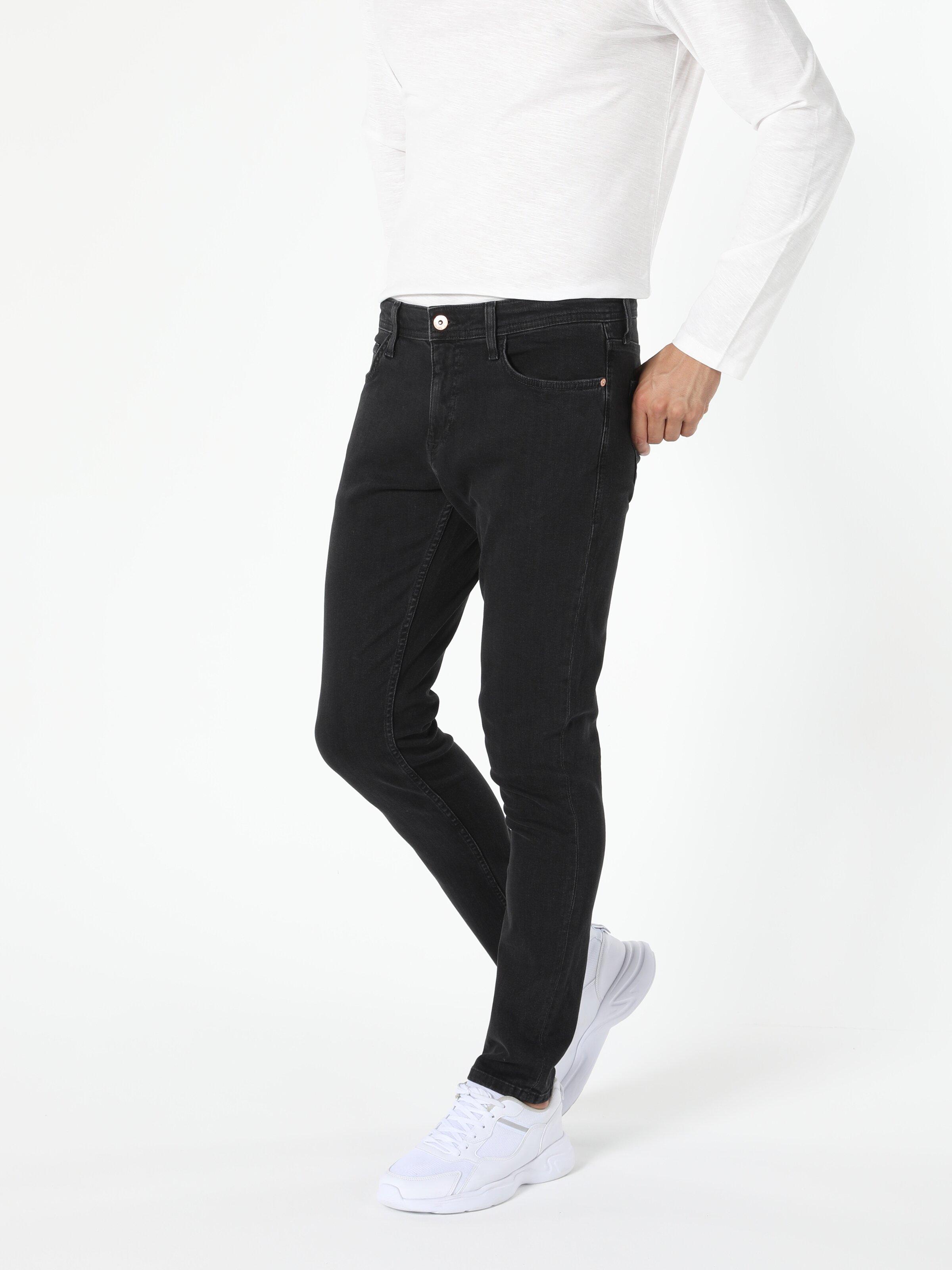 041 Danny Slim Fit Düşük Bel Dar Paça Erkek Jean Pantolon