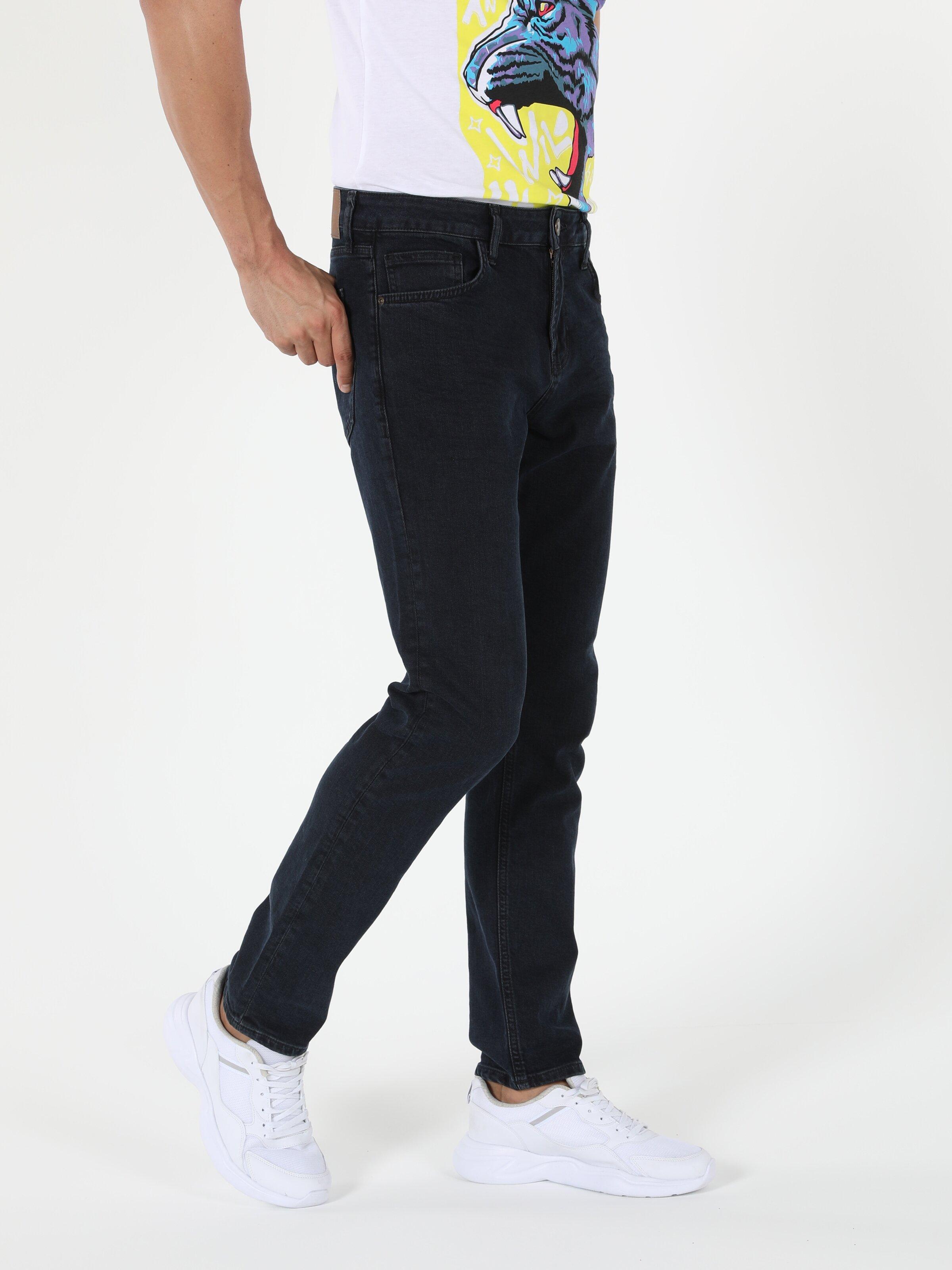 044 Karl Straight Fit Denim Erkek Pantolon