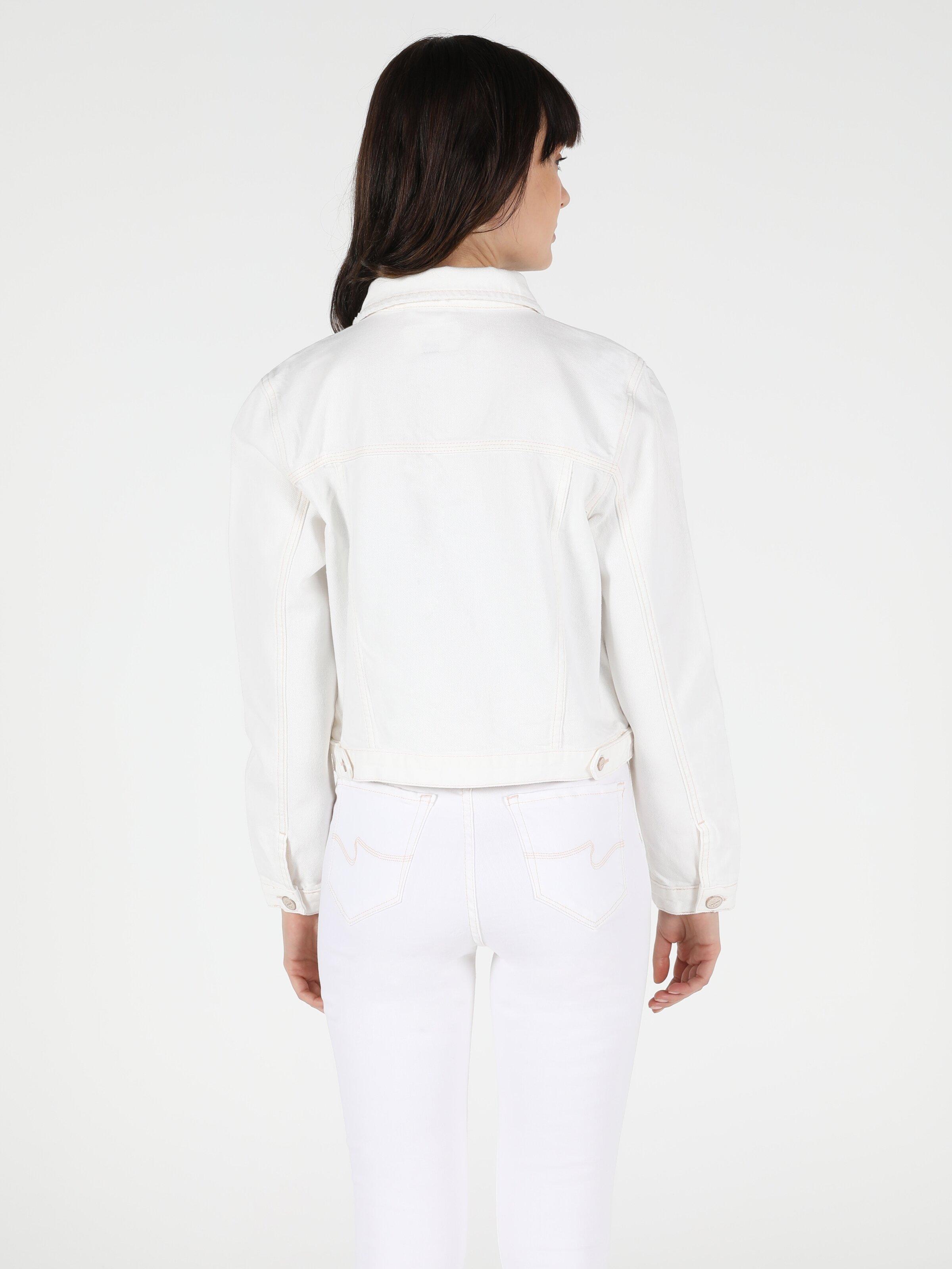 Regular Fit  Kadın Jean Ceket