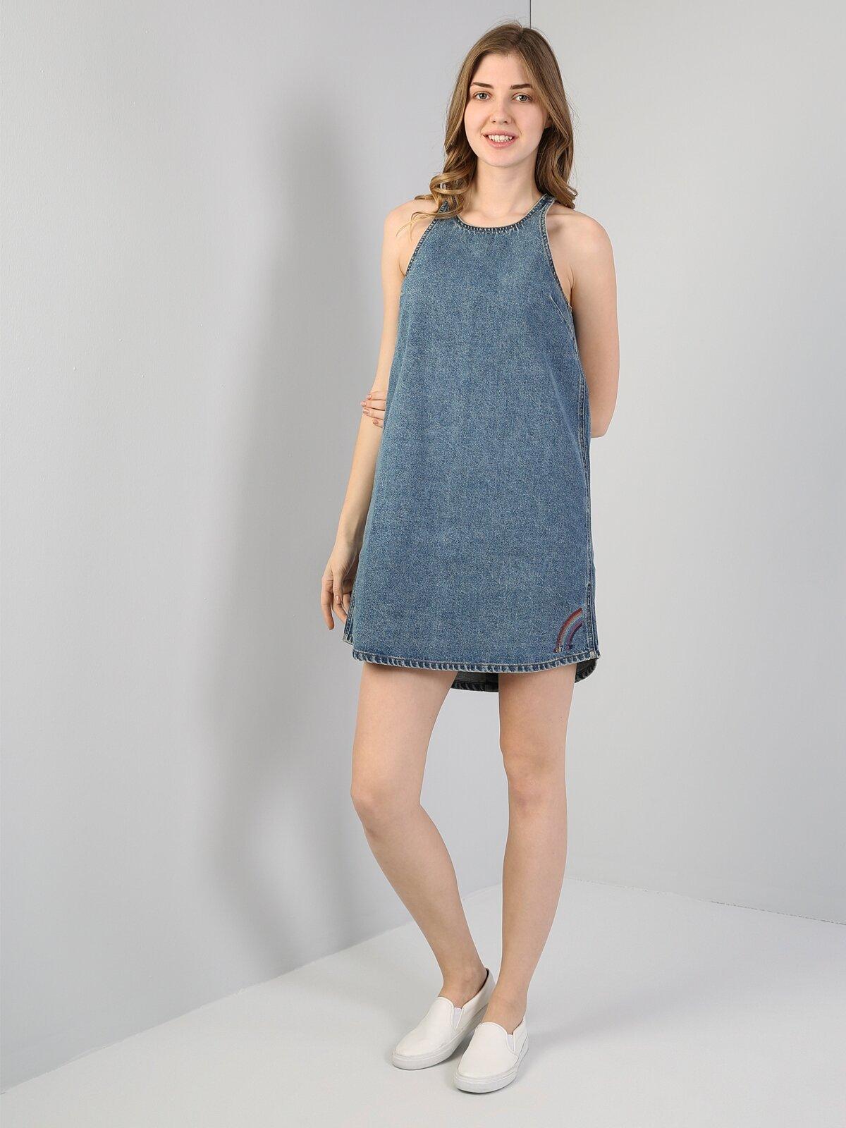 Mavi Kadın Elbise