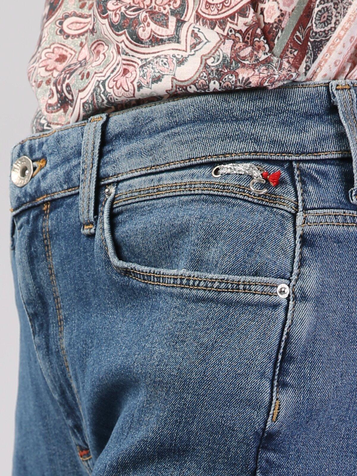 891 Maya Dar Kesim   Denim Jean Pantolon
