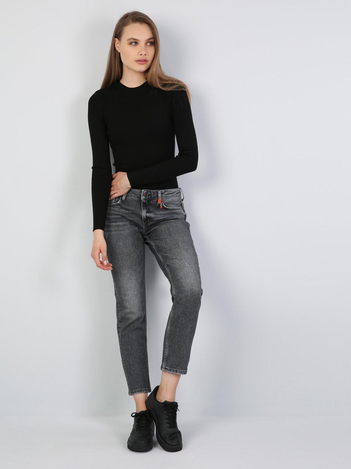 Gri Kadın Pantolon