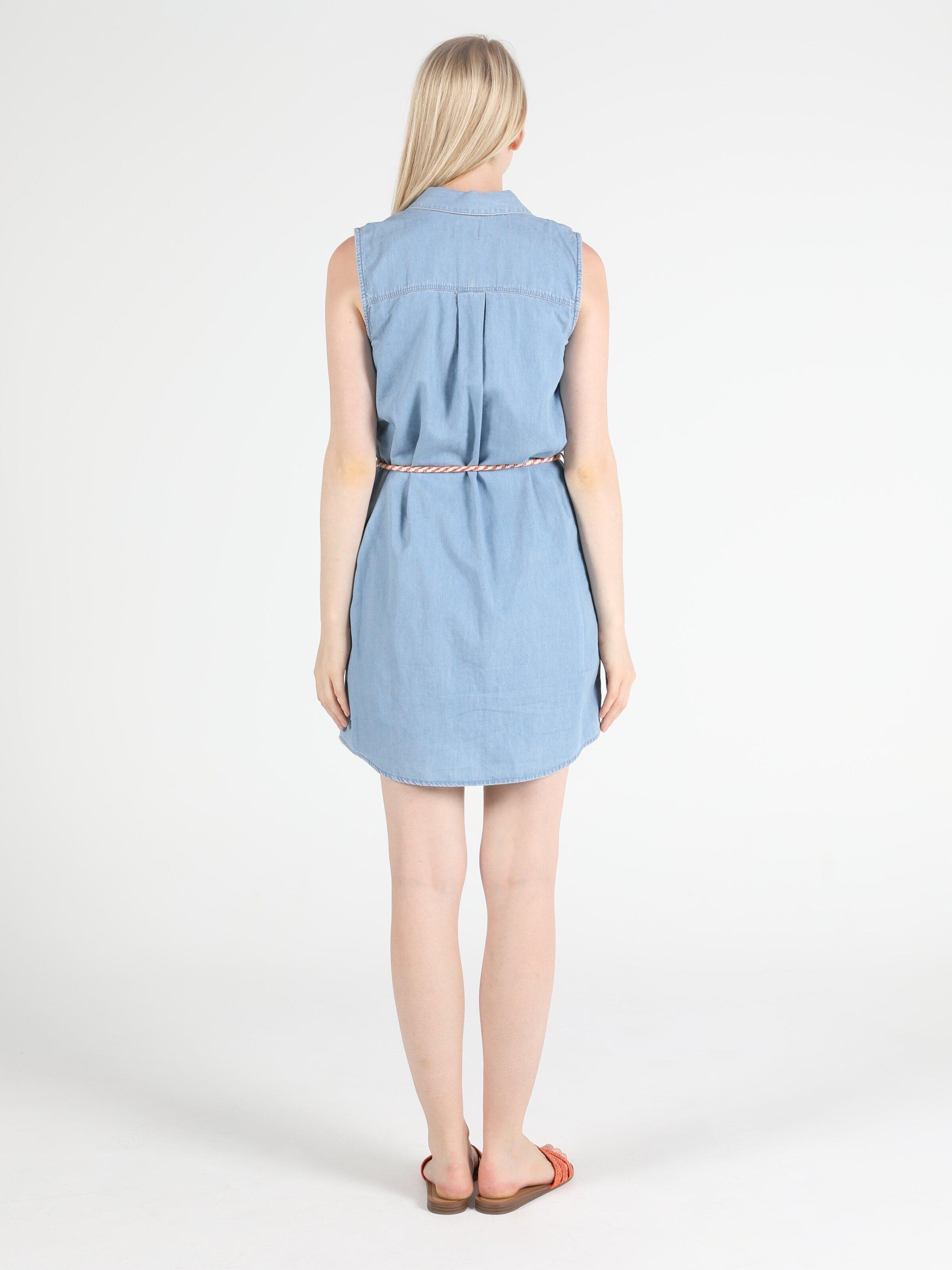 Regular Fit Jean Kadın Jean Elbise