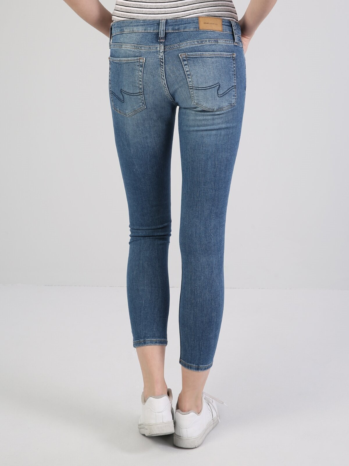 757 Sally Süper Düşük Bel Dar Paça Super Slim Fit Jean Kadın Jean Pantolon