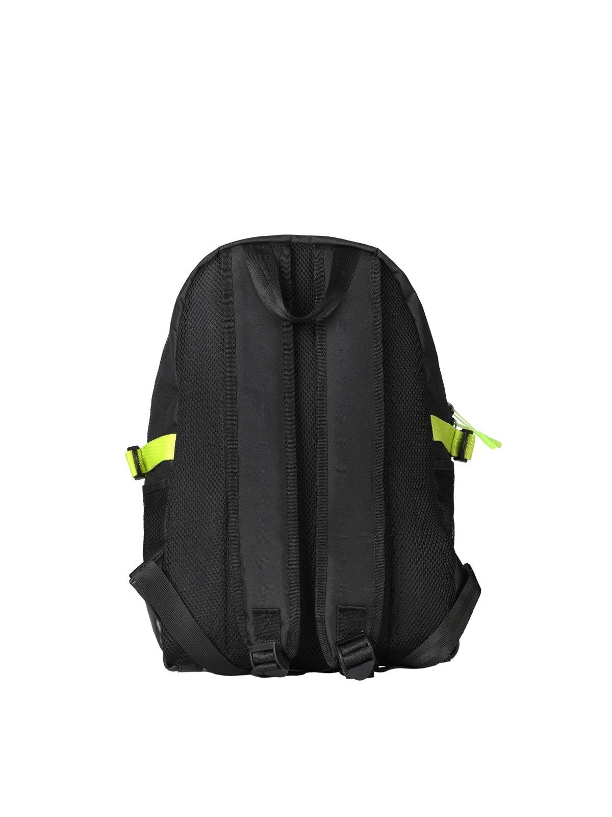 Yazılı Siyah Erkek Sırt Çanta