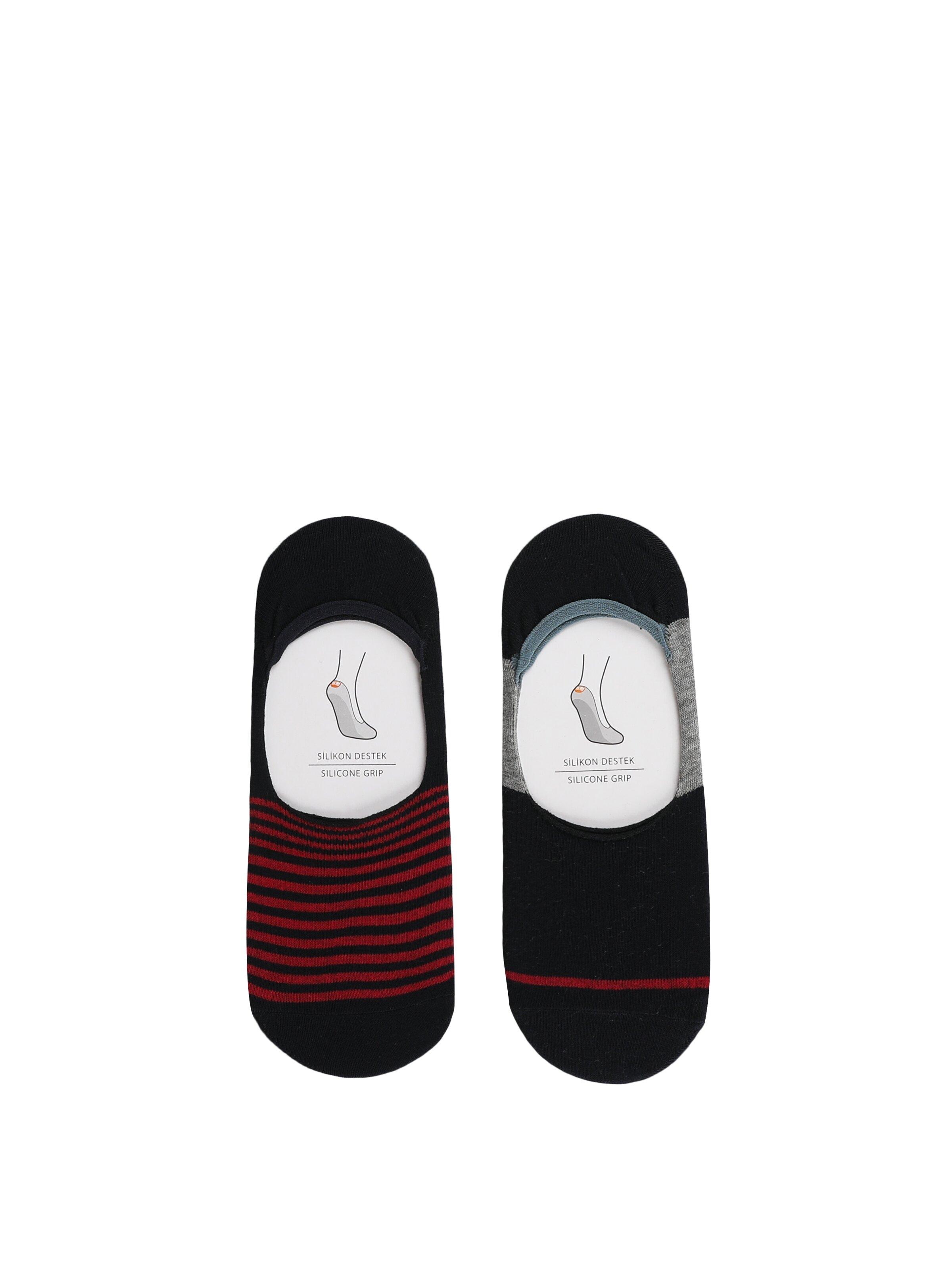 Modern Fit Çok Renkli Erkek Çorap