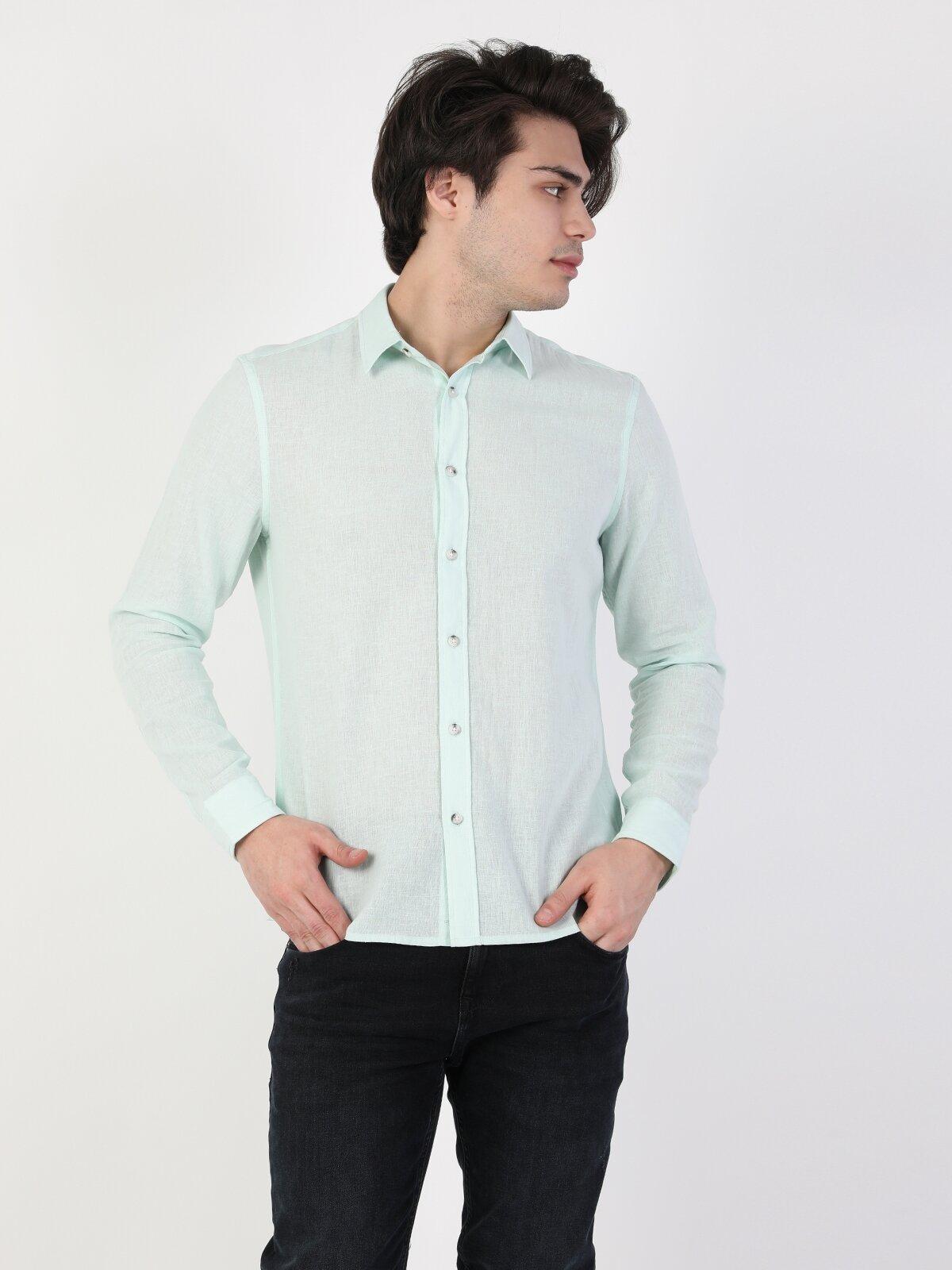 Erkek Uzun Kol Gömlek
