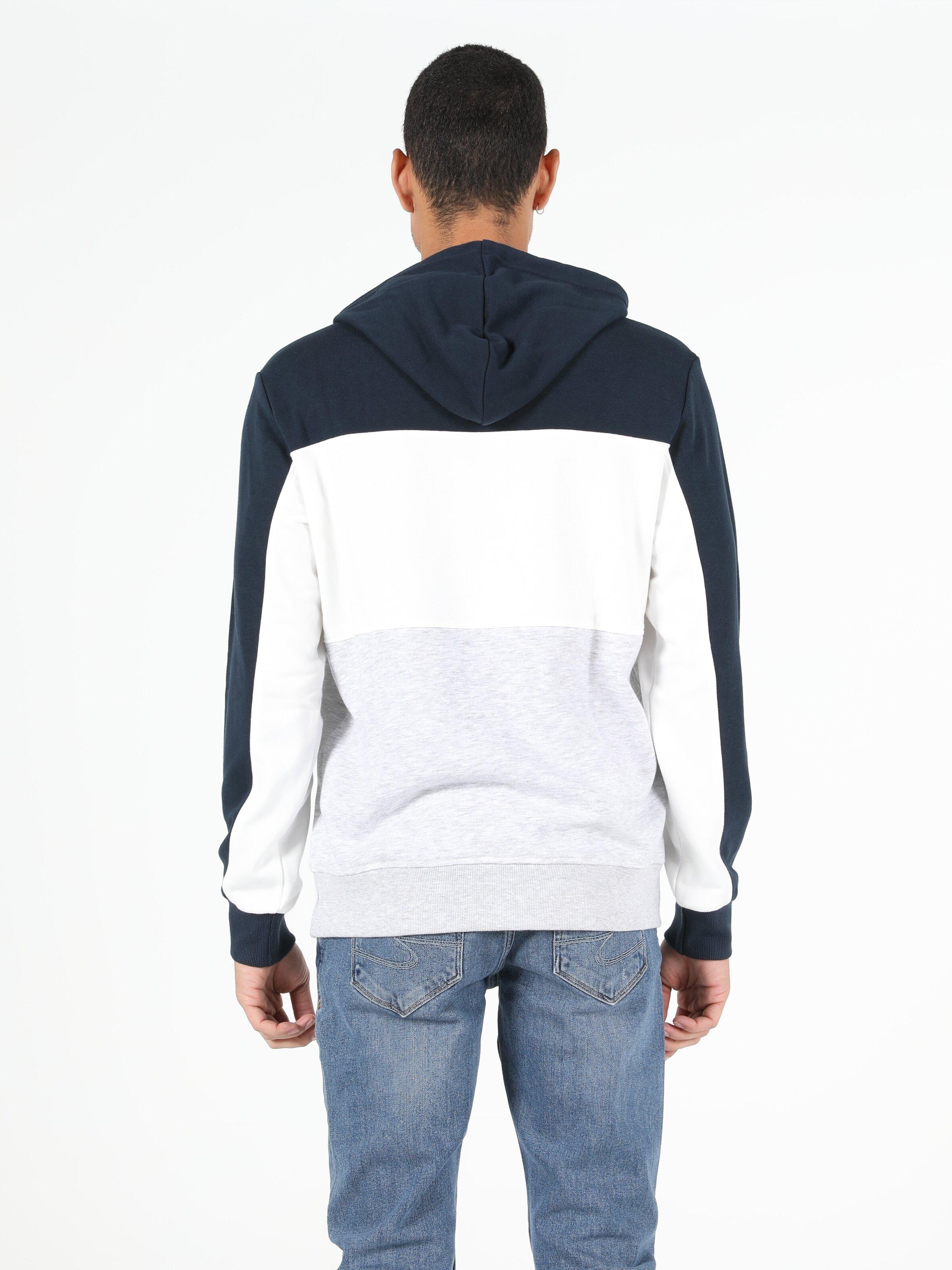 Regular Fit Erkek Lacivert Sweatshirt