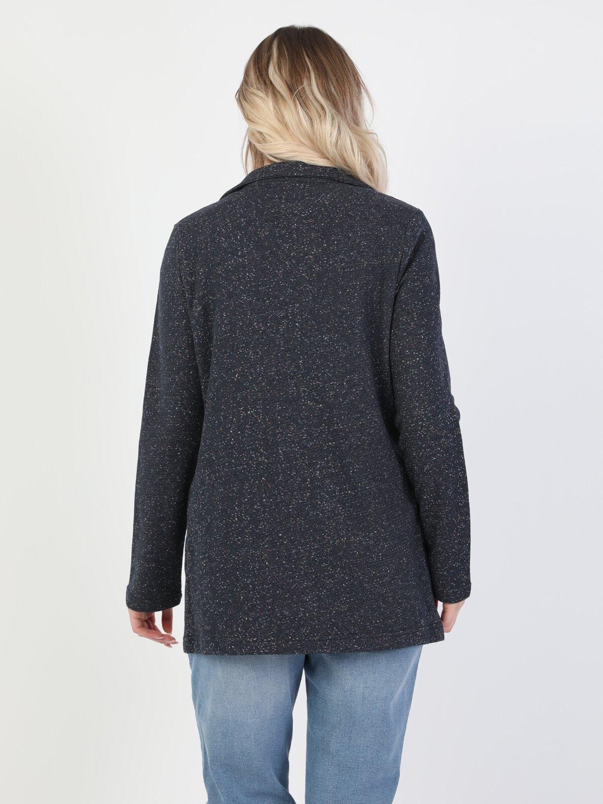 Regular Fit  Kadın Lacivert Ceket