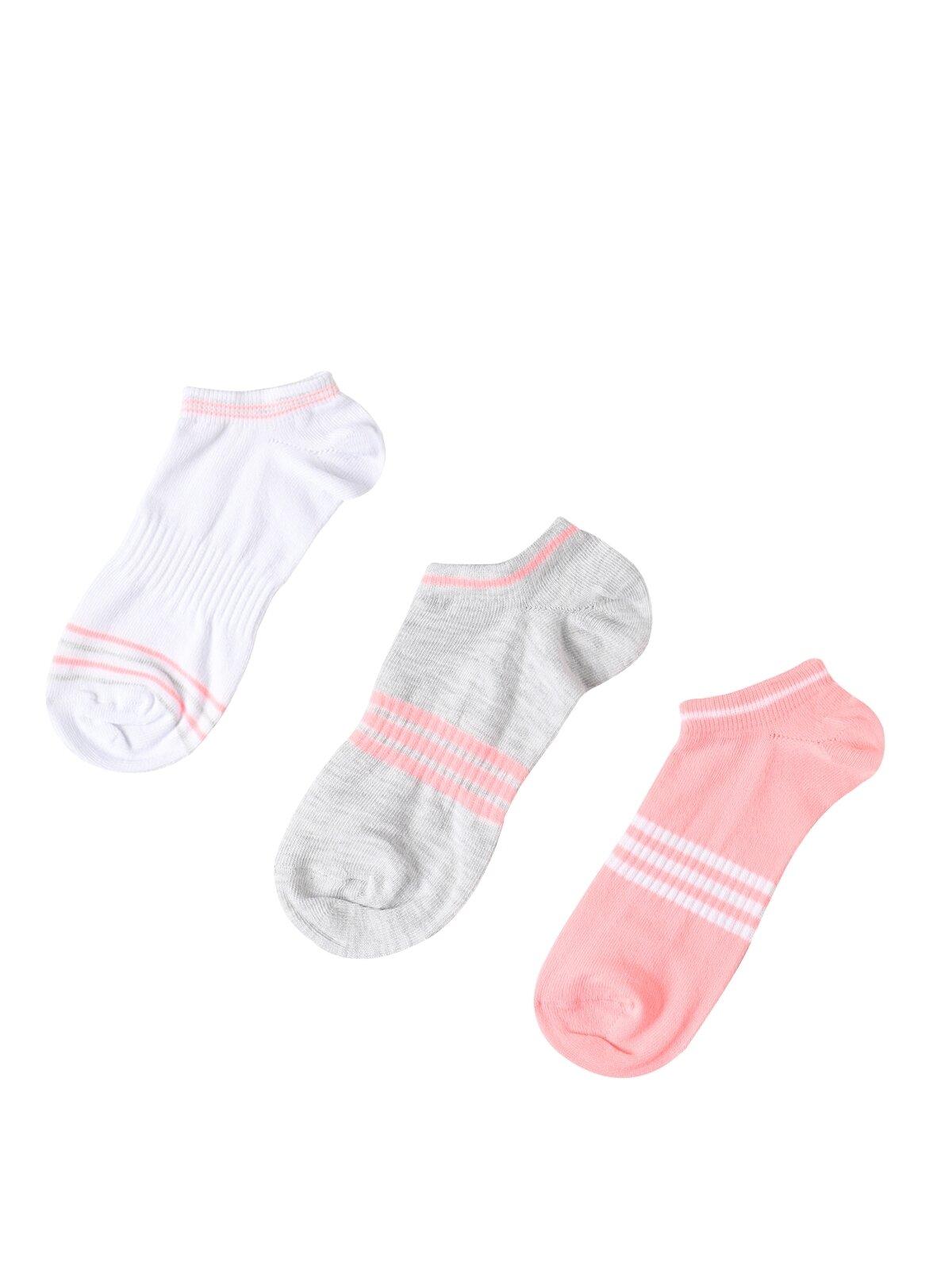 Baskılı Çok Renkli Kadın Çorap