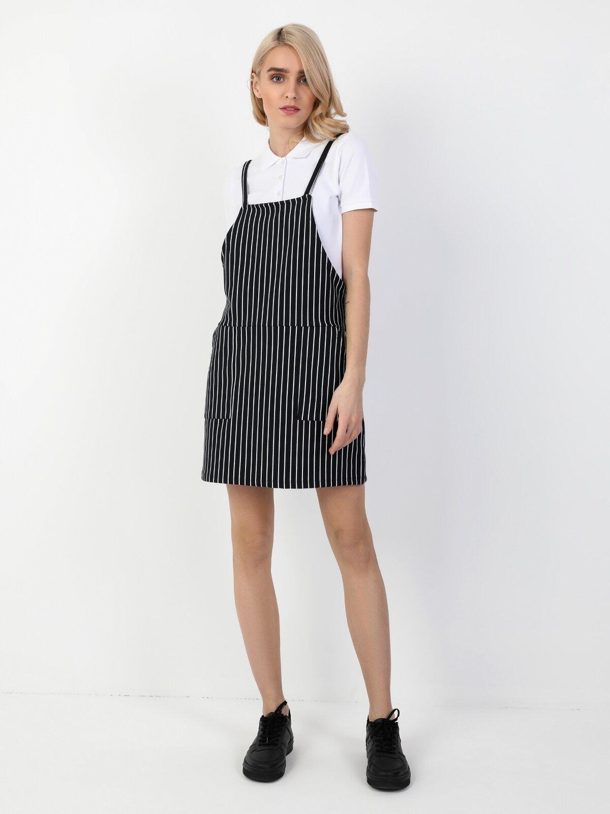 Regular Fit  Kadın Lacivert Elbise