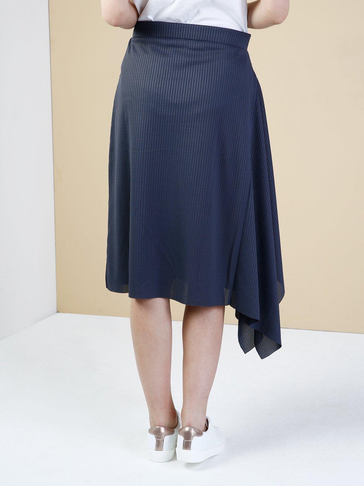 Normal Kesim Antra Melanj Kadın Mini Elbise