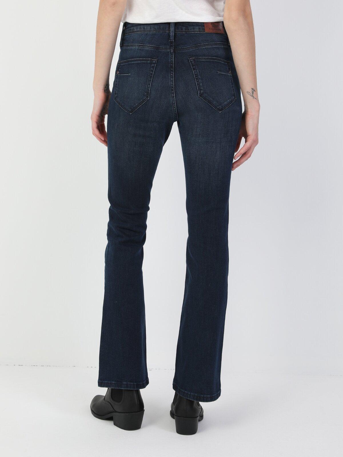 791 Monıca Orta Bel Rahat Paça Regular Fit Kadın Jean Pantolon