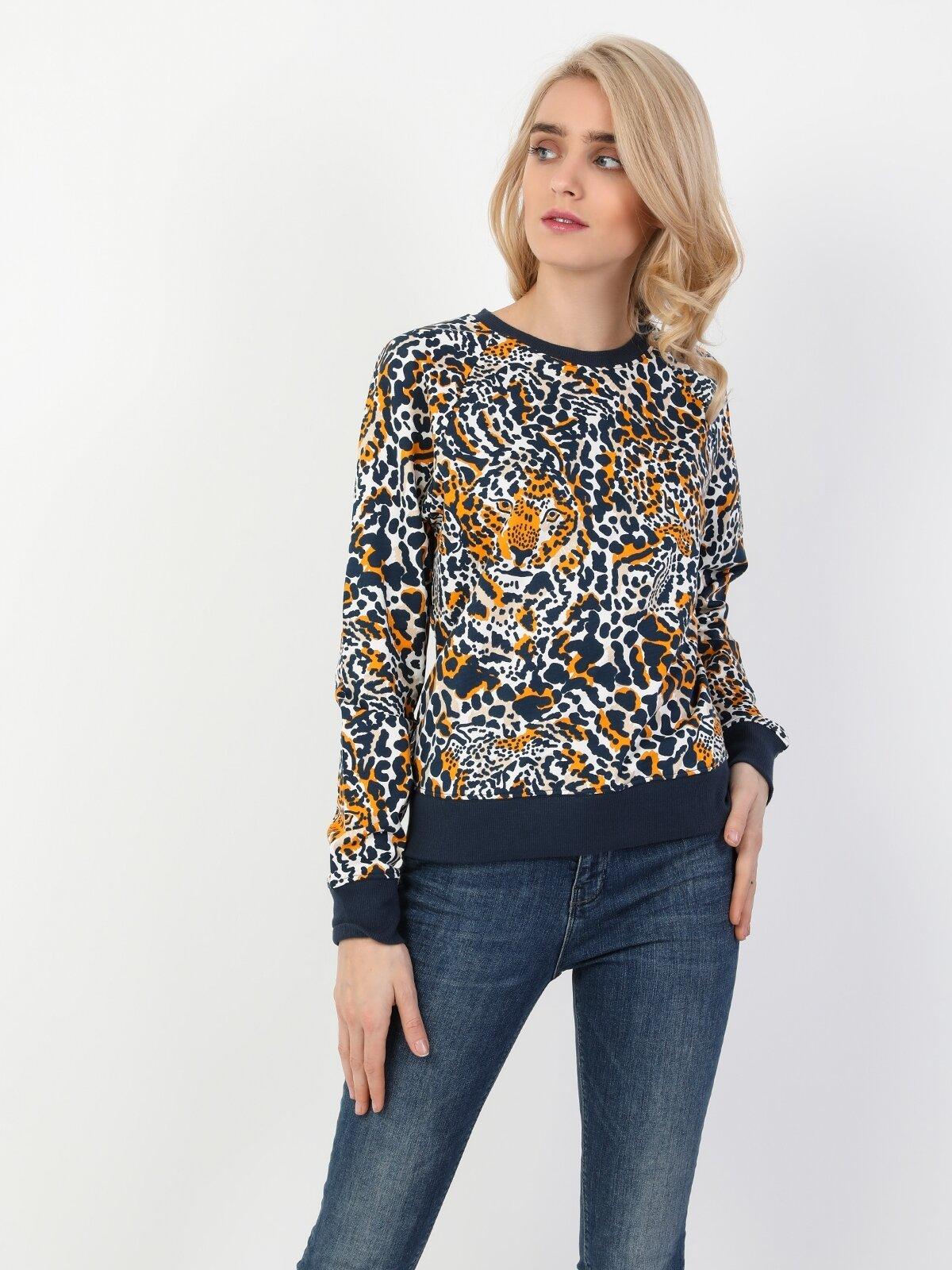 Regular  Lacivert Sweatshirt