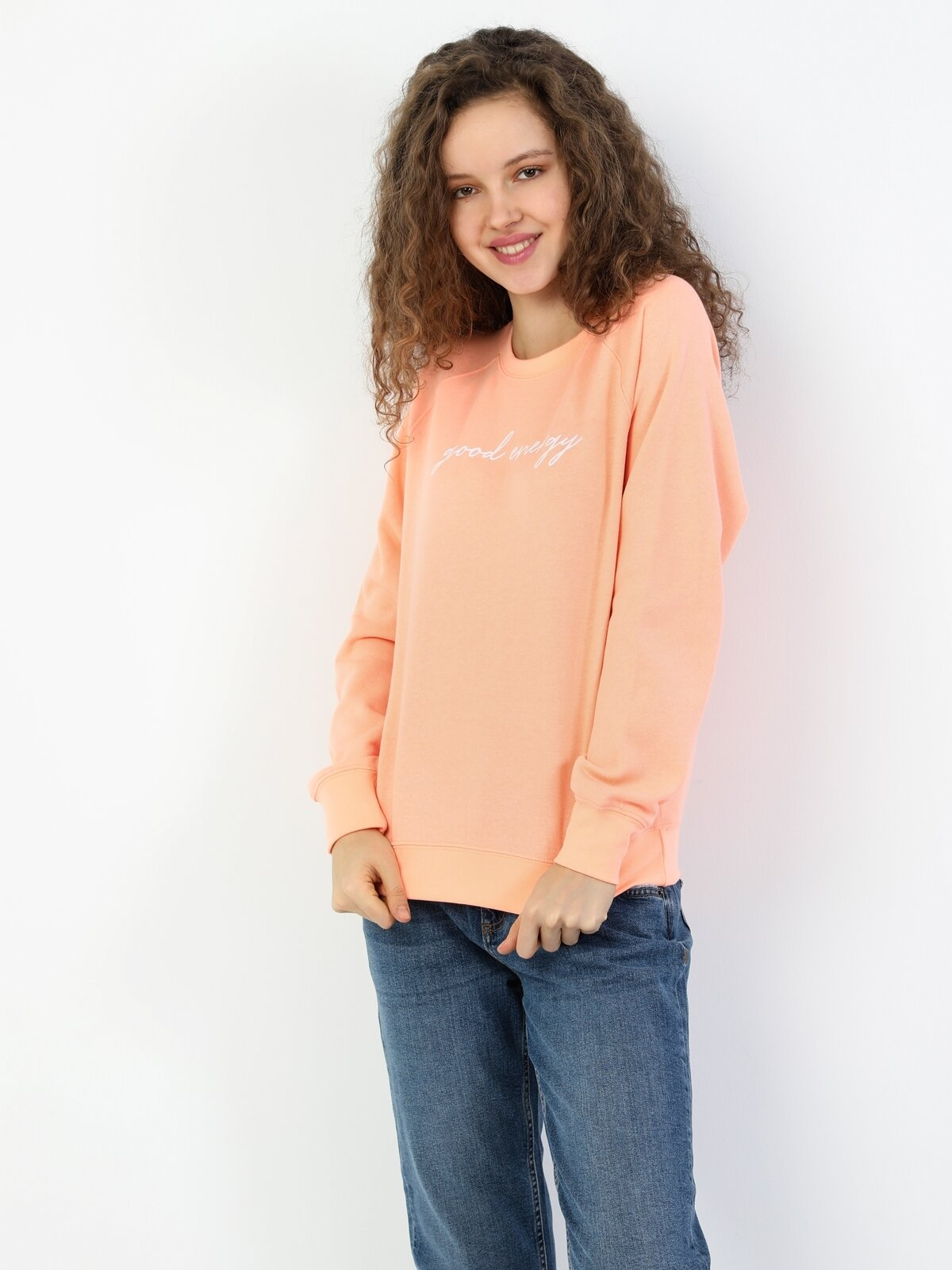 Regular Fitkadın Sweatshirt