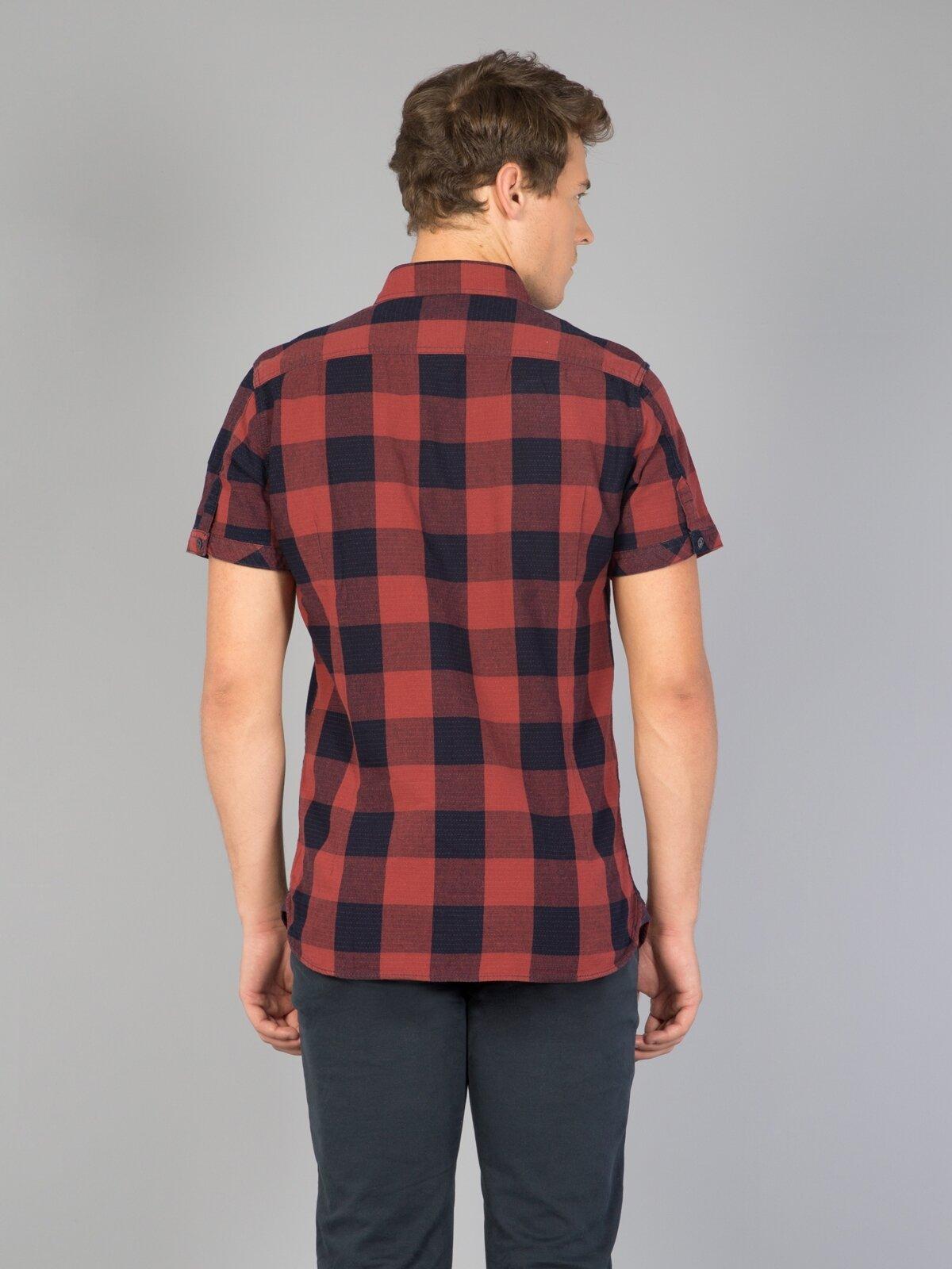 Erkek Kısa Kol Gömlek