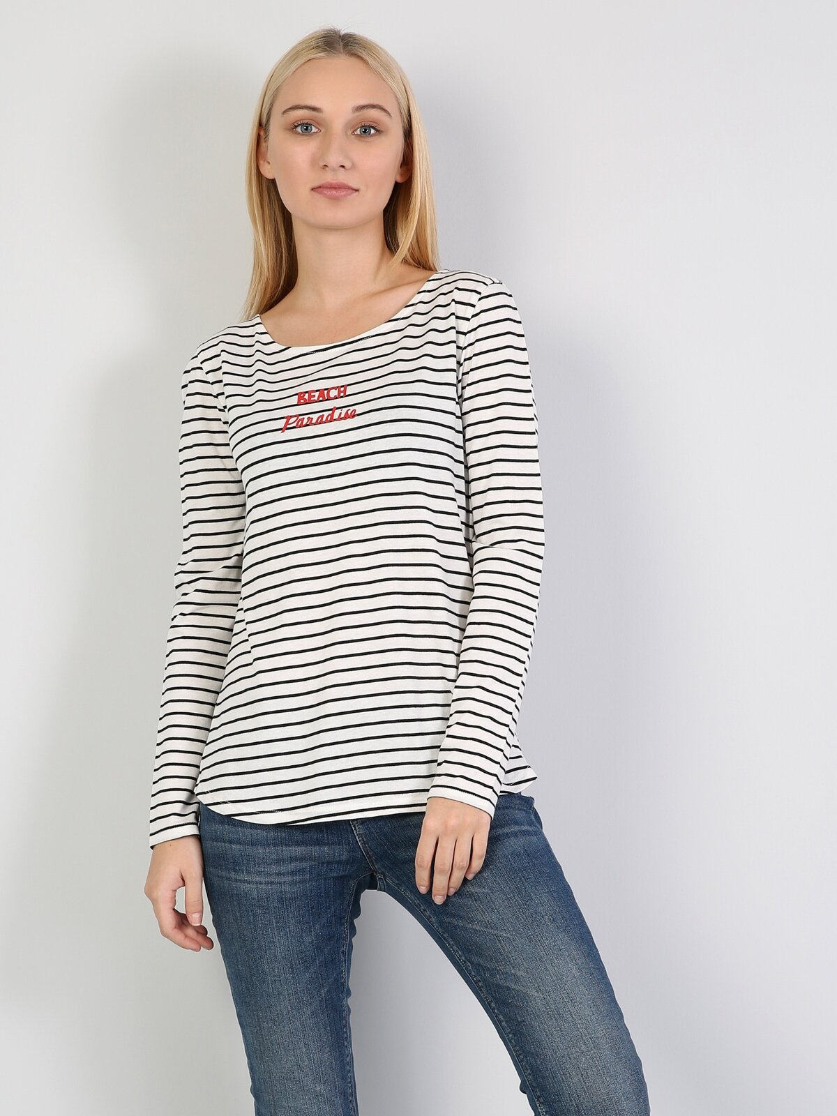 Kadın Uzun Kol Tişört