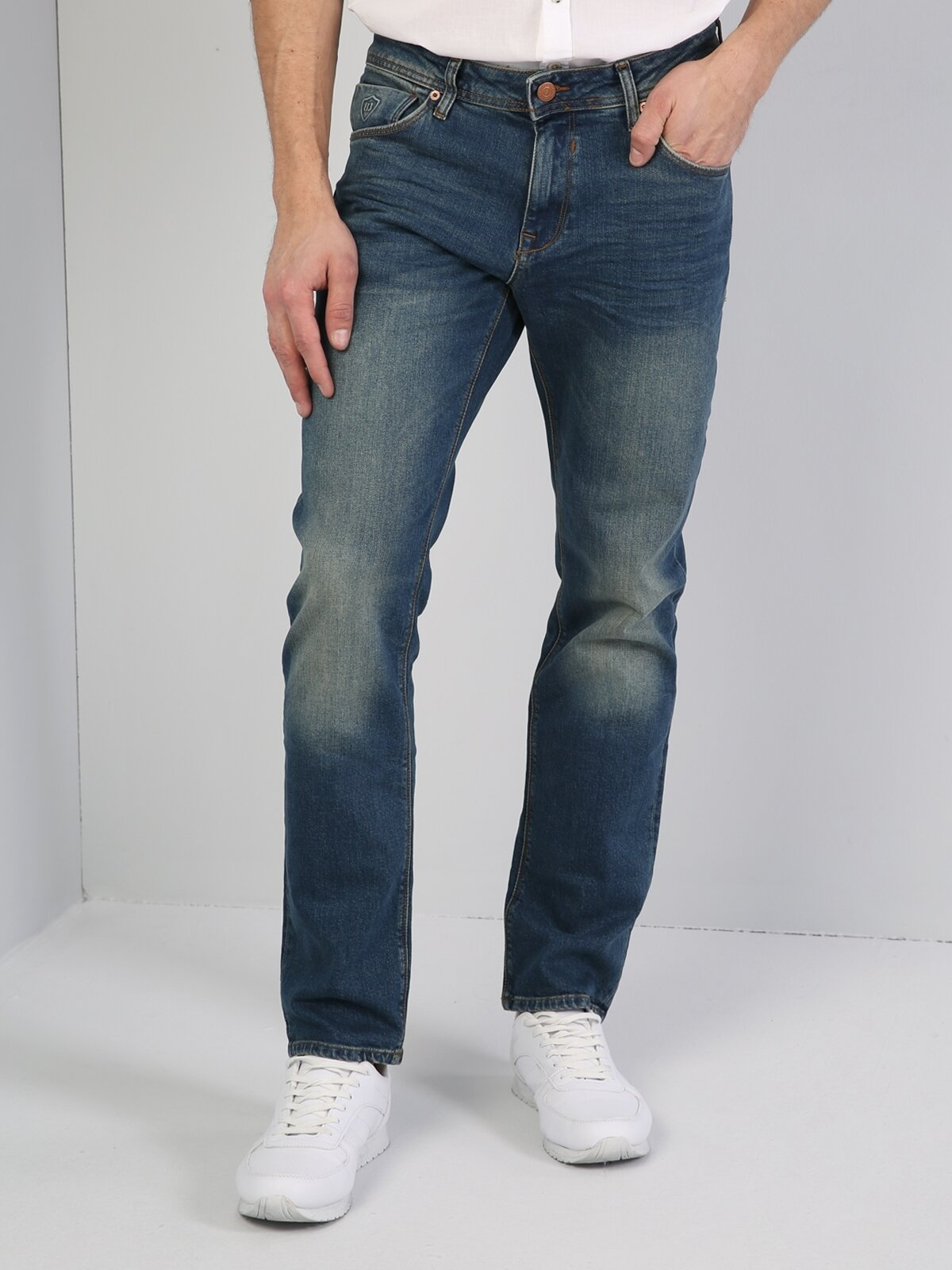 Regular Fit045 David Mavi Erkek Pantolon