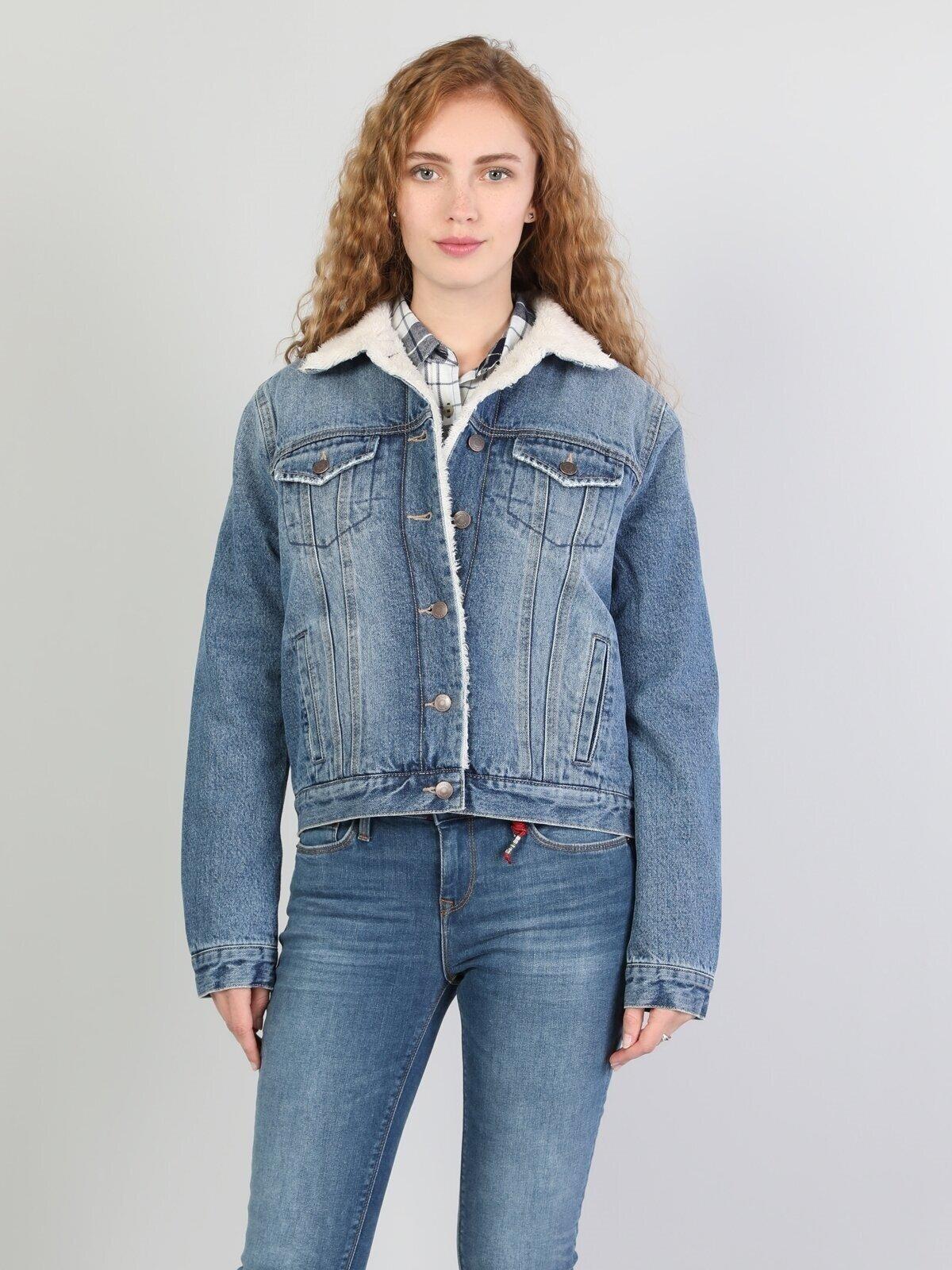 Mavi Kadın Ceket
