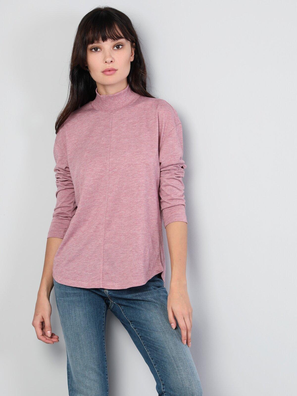 Pembe Kadın Tshirt U.kol