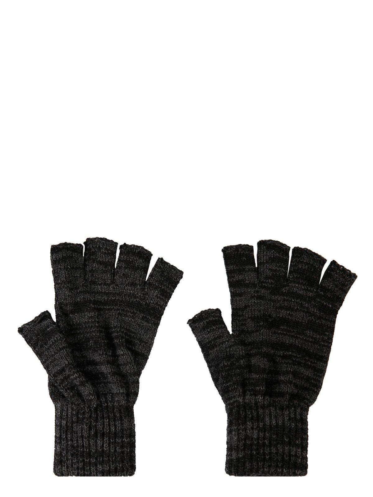 Comfort Fit  Erkek Siyah Melanj Eldiven