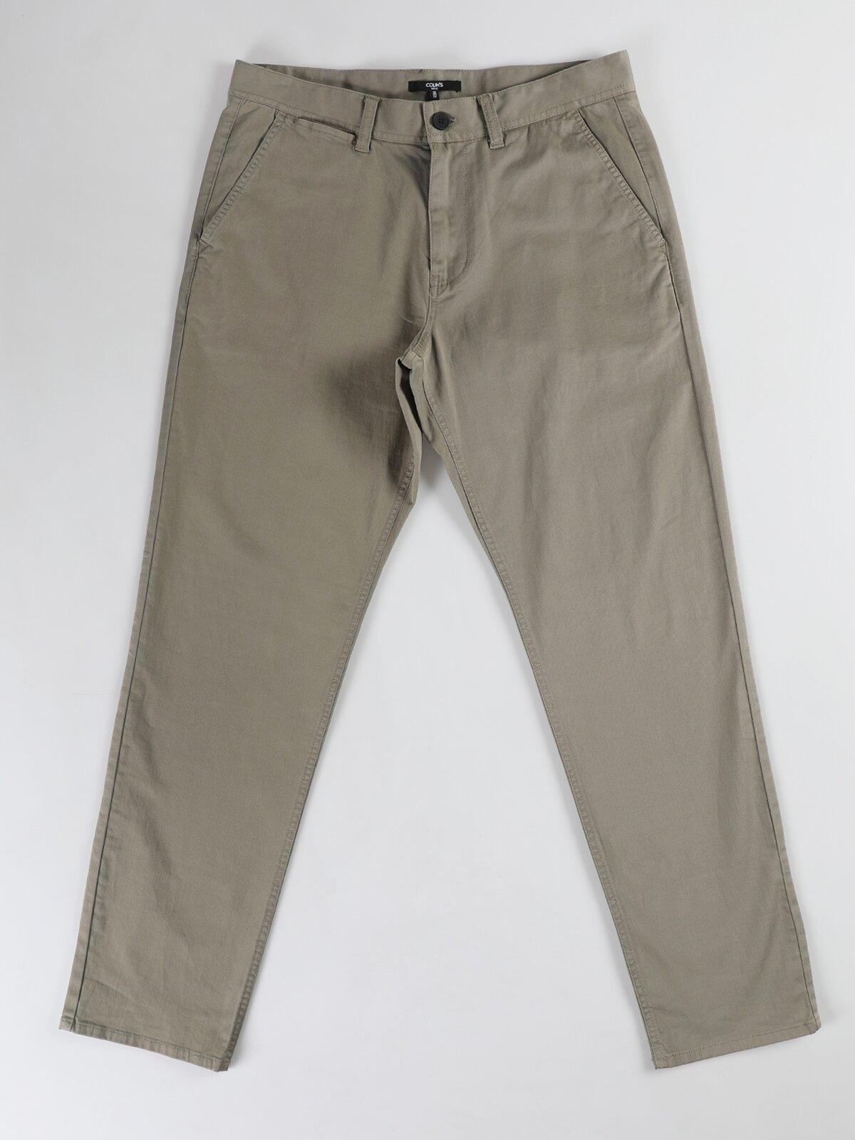 Regular Fit Düz Paça Yüksek Bel  Erkek Pantolon