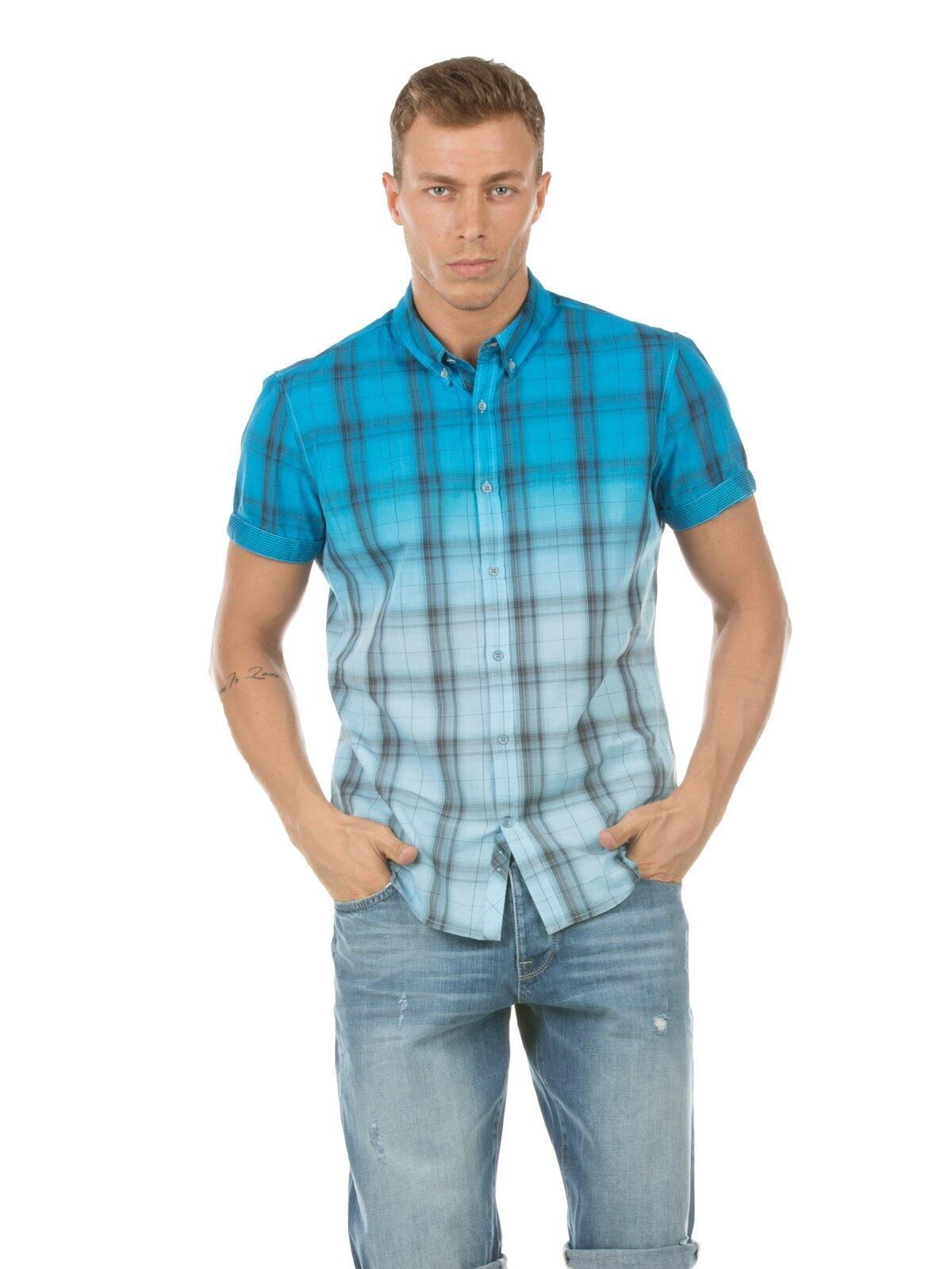 Mavi Erkek Gömlek K.kol