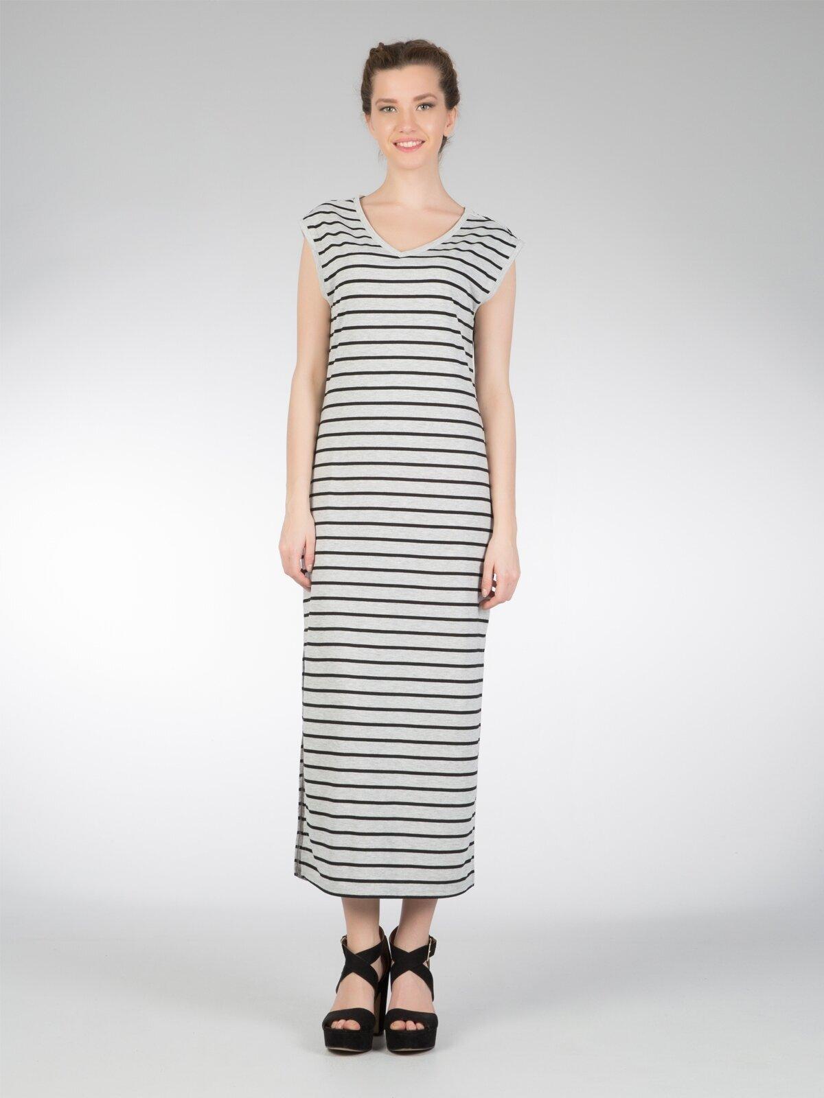 Gri Kadın Elbise