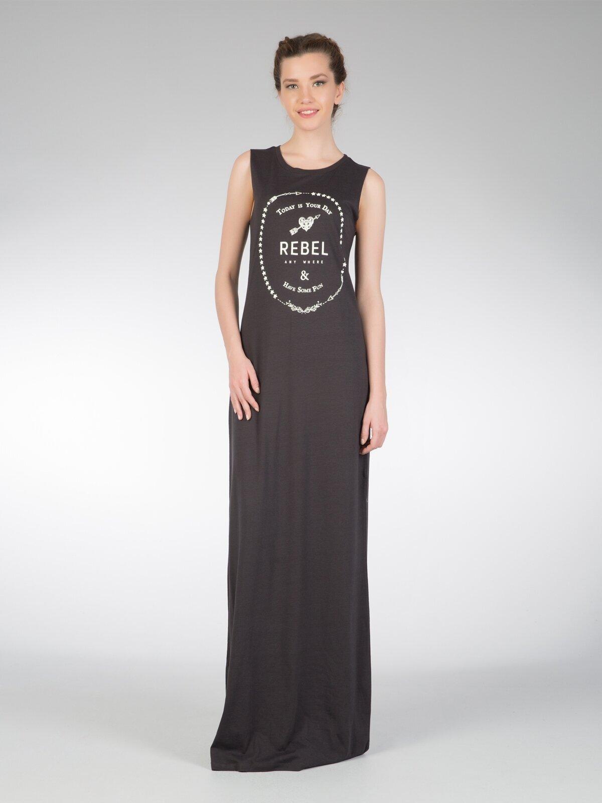 Antrasit Kadın Elbise