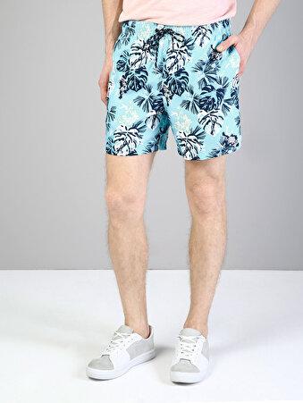 Mavi Erkek Deniz Şortu