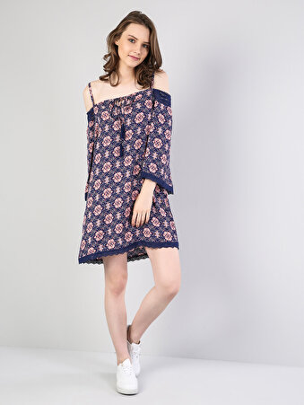 Çok Renkli Kadın Elbise
