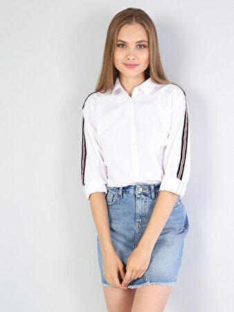 Klasik Yaka Beyaz Uzun Kol Gömlek