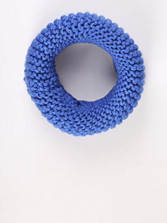 Mavi Kadın Atkı