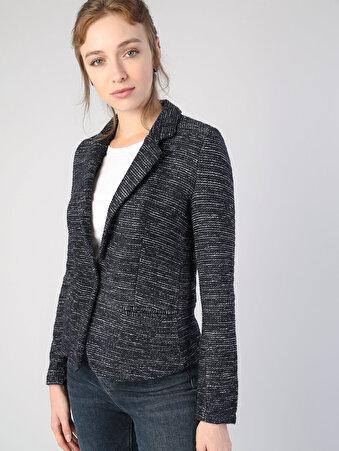 Lacivert Kadın Ceket