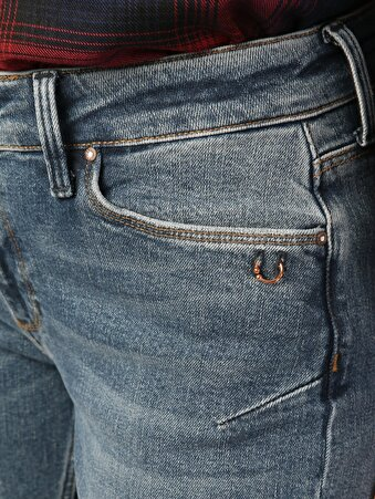 891 Maya Dar Kesim   Mavi Jean Pantolon