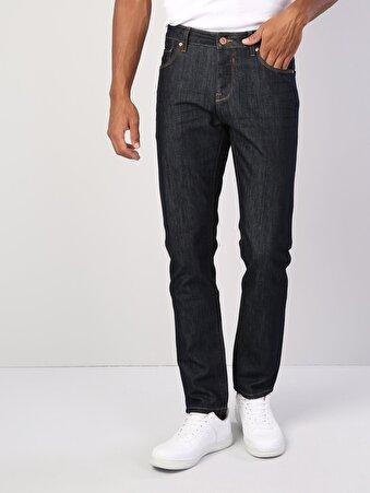 044 Karl Normal Kesim   Koyu Mavi Jean Pantolon