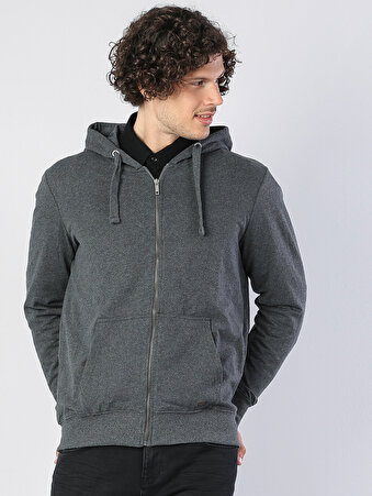 Gri Erkek Sweatshirt